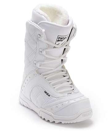 Thirtytwo Exus White Women's Snowboard Boots
