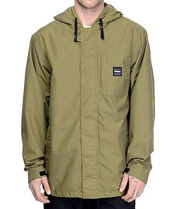 Thirtytwo Kaldwell 10K chaqueta de snowboard en verde militar