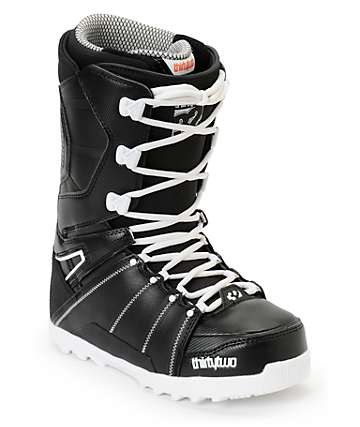 Thirtytwo Lashed Black & White Snowboard Boots