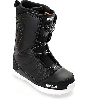 Thirtytwo Lashed Boa Black Snowboard Boots