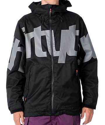 Thirtytwo Lowdown Black Men's Snowboard Jacket