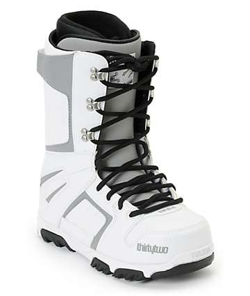 Thirtytwo Prion White Snowboard Boots