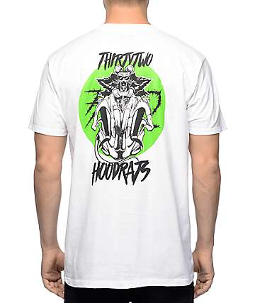 Thirtytwo Rat Rider White T-Shirt