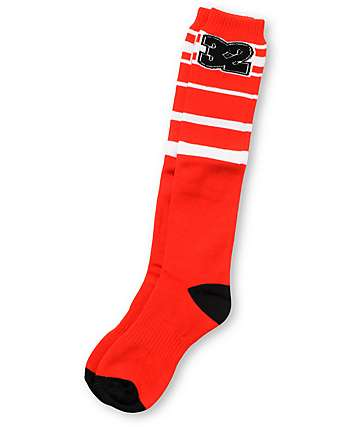 Thirtytwo Ridgeline Red Snowboard Socks