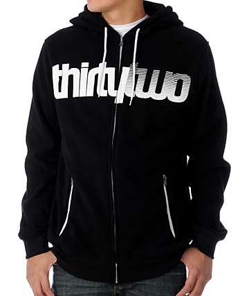 Thirtytwo Ruffneck Black Tech Fleece Jacket