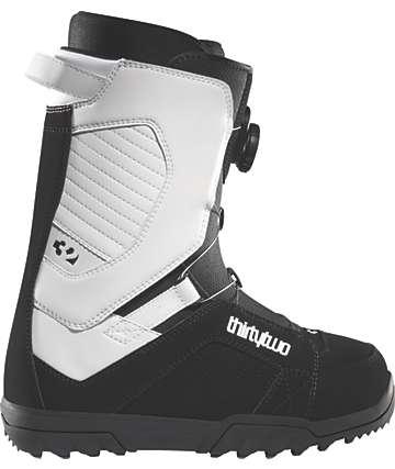 Thirtytwo STW BOA Black & White Men's Snowboard Boots