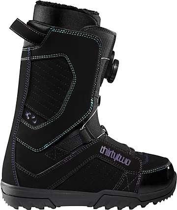 Thirtytwo STW BOA Black Women's Snowboard Boots