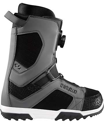 Thirtytwo STW BOA Grey Men's Snowboard Boots