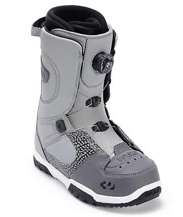 Thirtytwo STW Boa Grey Snowboard Boot