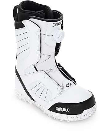 Thirtytwo STW Boa botas blancas de snowboard