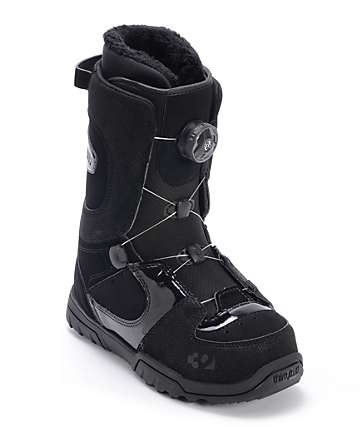 Thirtytwo Women's STW Boa Black Snowboard Boot