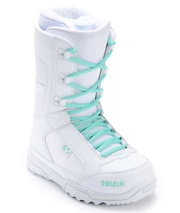 Thirtytwo Women's Summit White Snowboard Boot