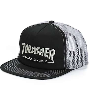 Thrasher Logo Trucker Hat