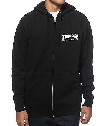 Thrasher Mag Logo Zip Up Hoodie