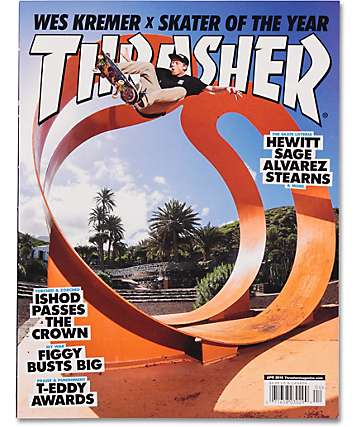 Thrasher Magazine April 2015