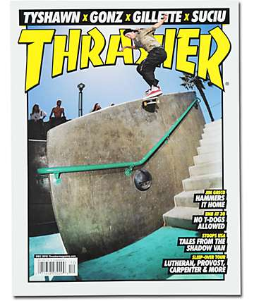 Thrasher Magazine December 2015