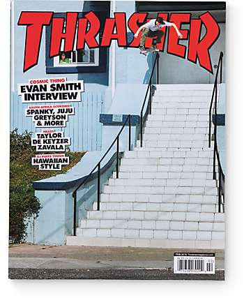Thrasher Magazine February 2016 Issue