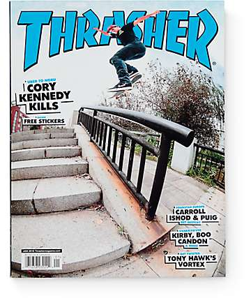 Thrasher Magazine January 2016 Issue