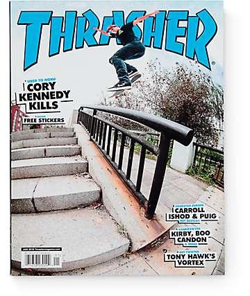 Thrasher Magazine January 2016 Issue