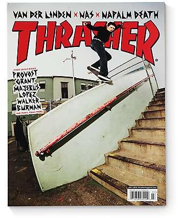 Thrasher Magazine July 2016