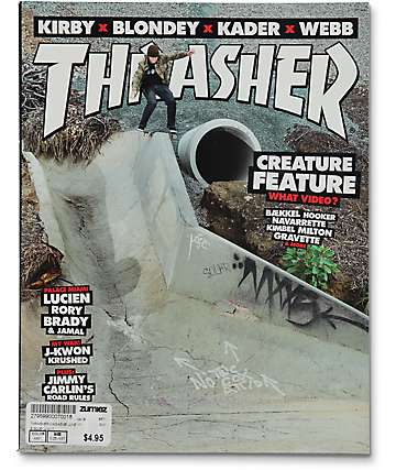 Thrasher Magazine June 2017