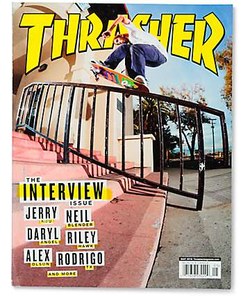 Thrasher Magazine May 2016 Issue