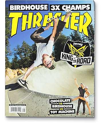 Thrasher Magazine September 2016