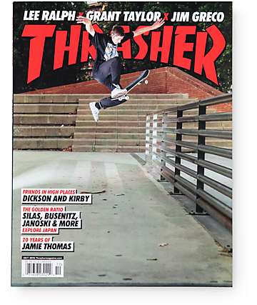 Thrasher October 2015 Skateboard Magazine