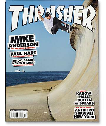 Thrasher October 2016 Magazine