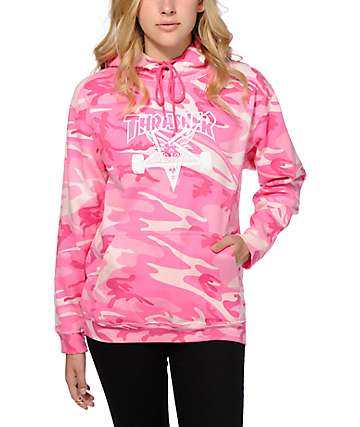 Thrasher Pink Camo Hoodie