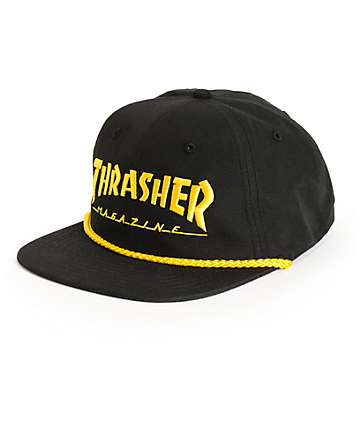 Thrasher Rope Snapback Hat