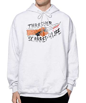 Thrasher Scarred Hoodie