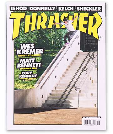 Thrasher September 2014 Skateboard Magazine