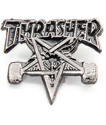 Thrasher Skate Goat broche