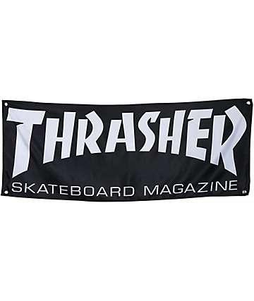 Thrasher Skate Magazine Banner