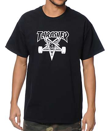 Thrasher Skategoat Black T-Shirt