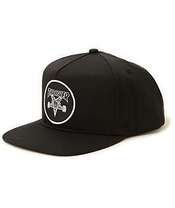 Thrasher Skategoat Patch Snapback Hat