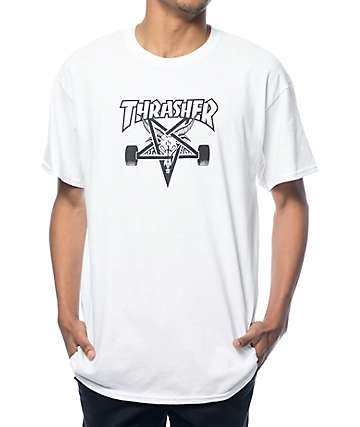 Thrasher Skategoat White T-Shirt