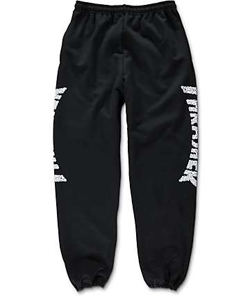 Thrasher Skulls pantalones deportivos negros