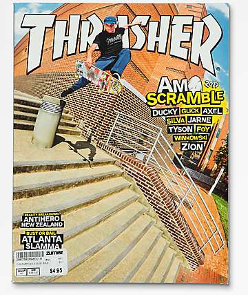 Thrasher revista agosto 2017