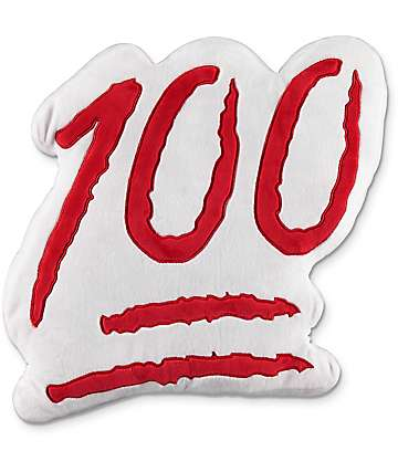 Throwboy 100 Emoji Pillow