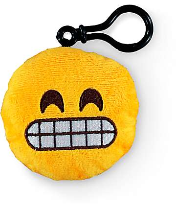 Throwboy Emoji Grin Plush Keychain