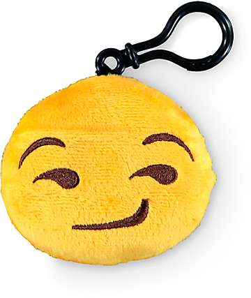 Throwboy Emoji Smirk Plush Keychain