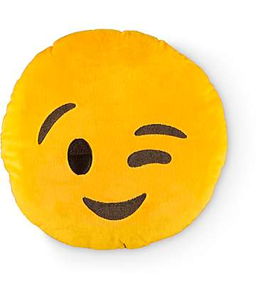 Throwboy Emoji Wink almohada