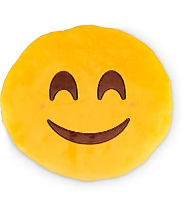 Throwboy Happy Emoji Pillow