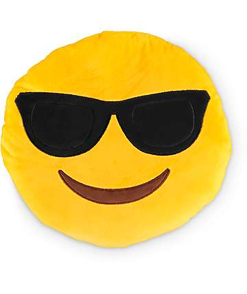 Throwboy Shades Emoji Pillow