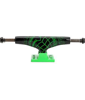 Thunder Sonora Loejes de skate negros neón y verde