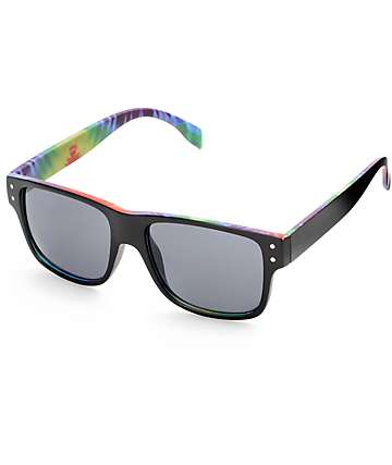 Tippy Tie Dye Flat Top Sunglasses