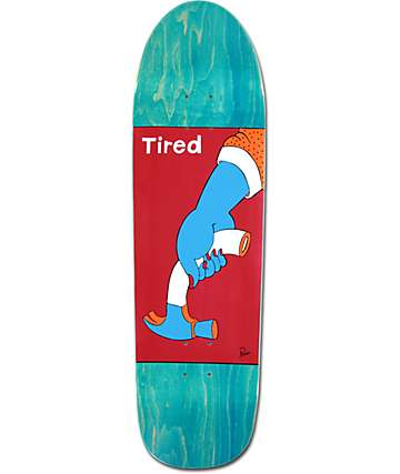 "Tired Weak Hammer 9.189"" Skateboard Deck"