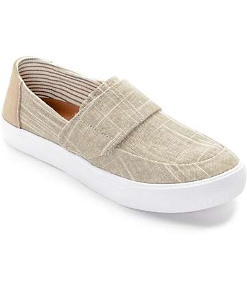 Toms Altair Natural, Metallic & Linen Women's Shoes